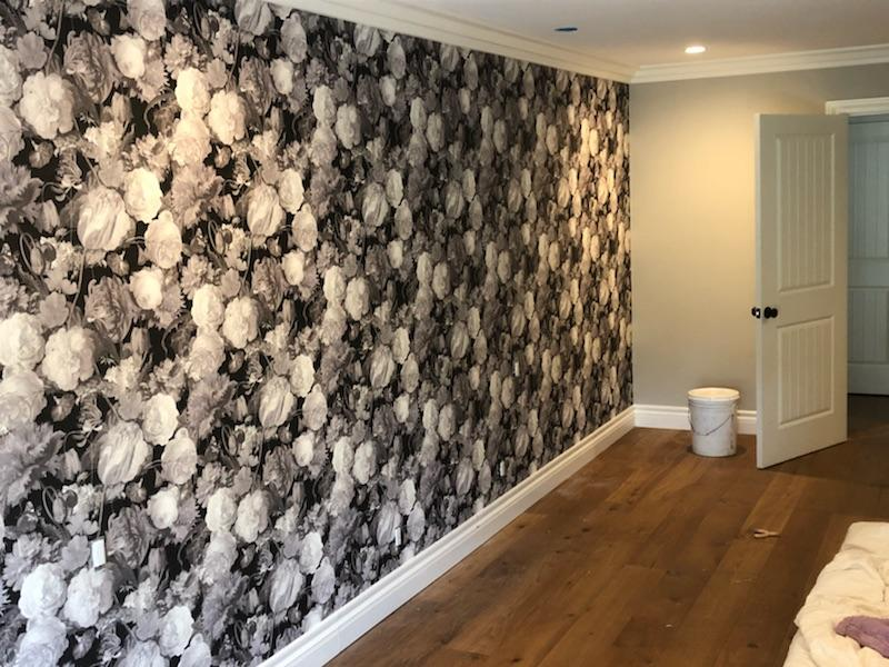 Botanical Wallcovering & Installation